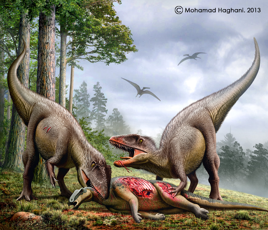Carcharodontosaurus by Mohamad Haghani