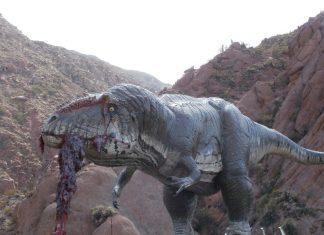 Carcharodontosaurus by Jorge Antonio Gonzalez