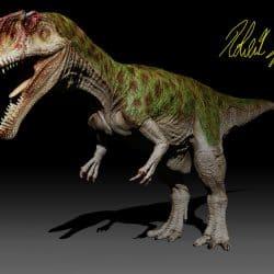 Carcharodontosaurus by Robertasaurus Fabiani