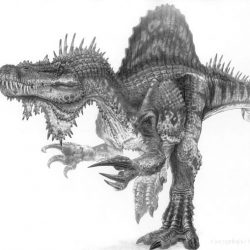 Spinosaurus by Todd Marshall