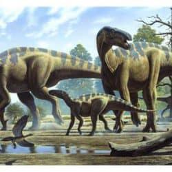 Iguanodon by Raul Martin