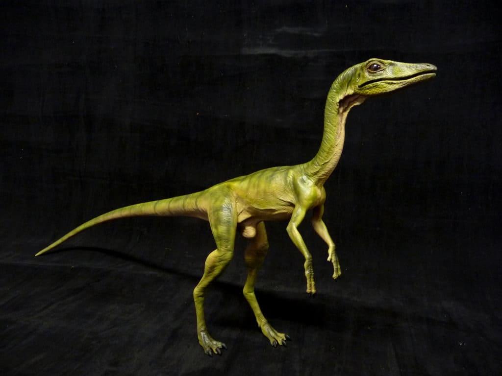 Compsognathus by Martin Garratt