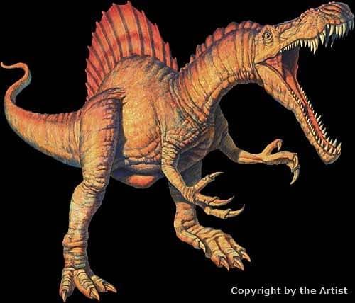 Spinosaurus by Joe Tucciarone