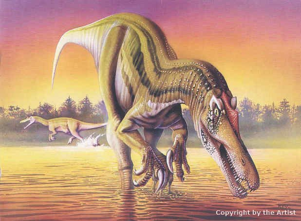 Baryonyx by Luis Rey