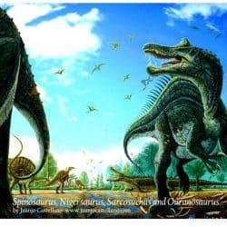 Spinosaurus by Juanjo Castellano