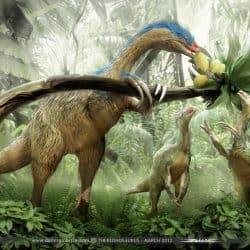 Therizinosaurus by Damir