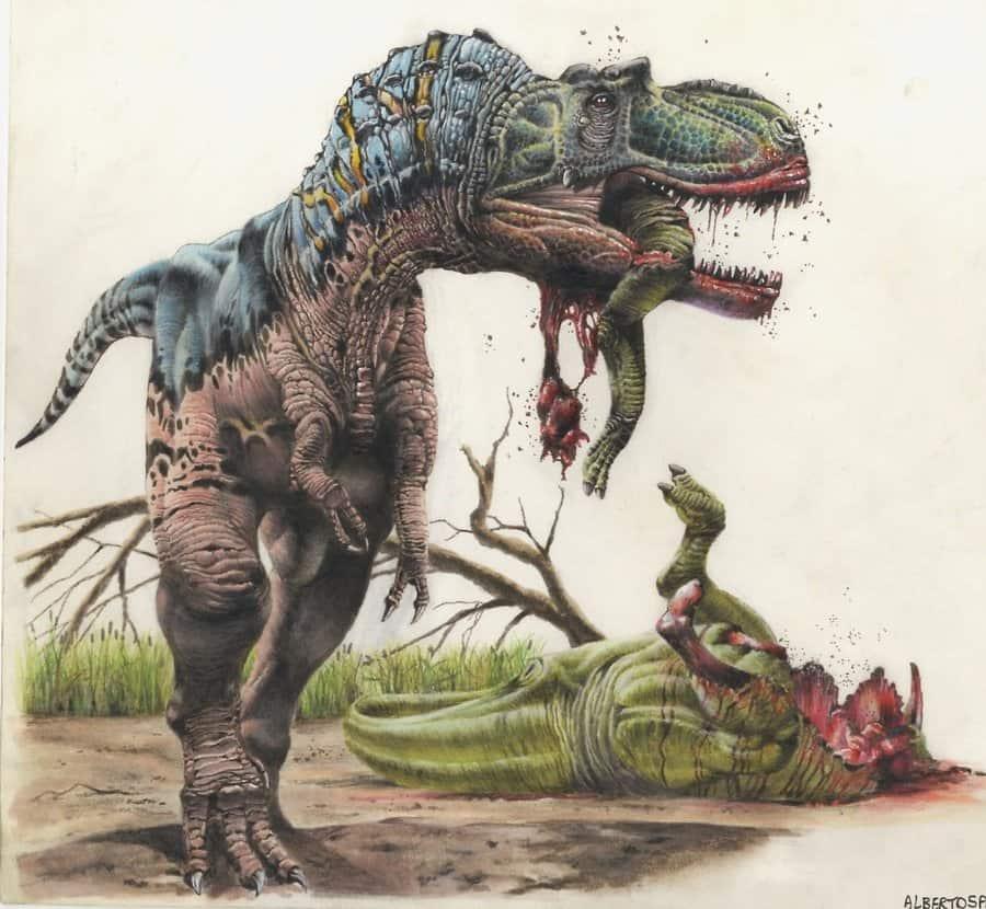 Albertosaurus by Steve White
