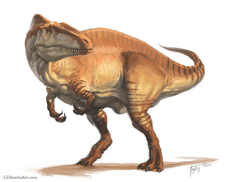 Acrocanthosaurus - Facts and Pictures