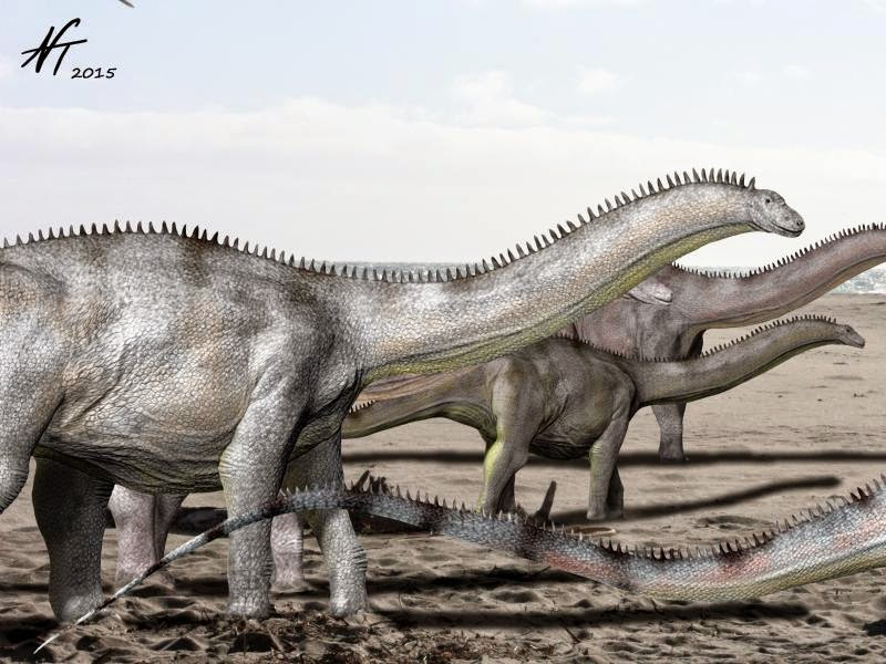 Brontosaurus by Nobu Tamura