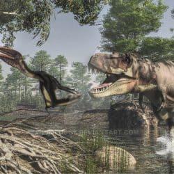 Tarbosaurus by Jk