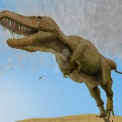 Tarbosaurus by Frank Lode
