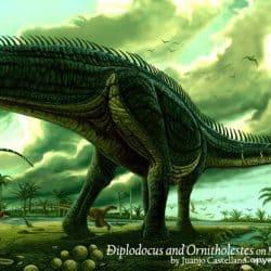 Brontosaurus by Juanjo Castellano