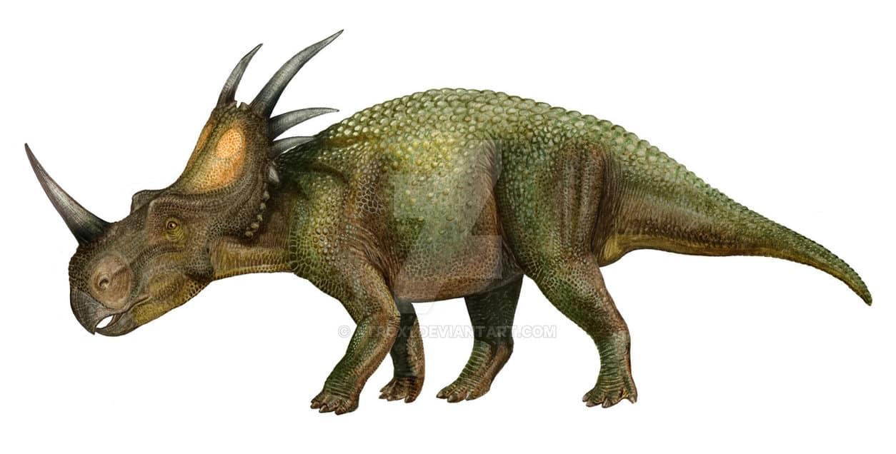 Styracosaurus by Sergey Krasovskiy