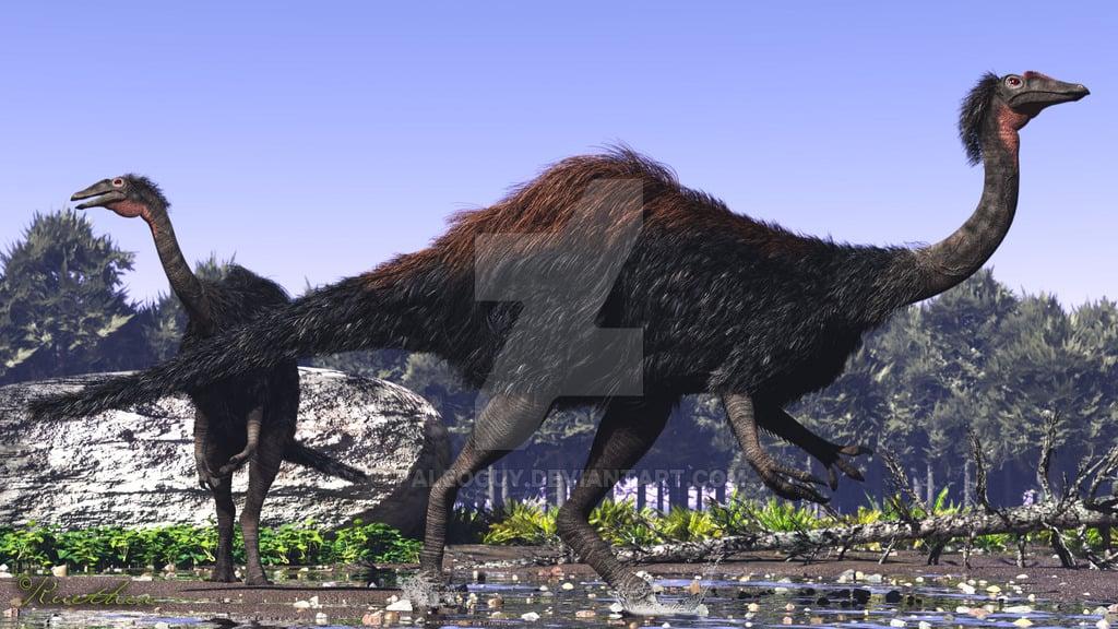 Deinocheirus by James Kuether