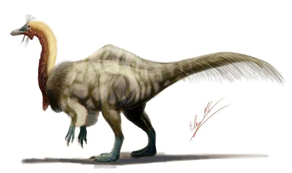 Deinocheirus by Eloy Manzanero Criado