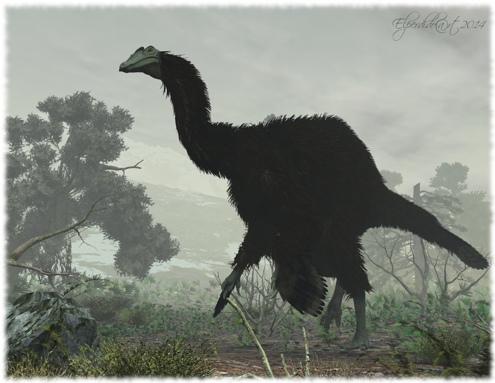 Deinocheirus by Andreas
