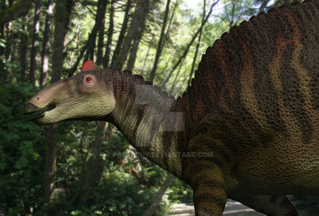 Edmontosaurus by James Kuether