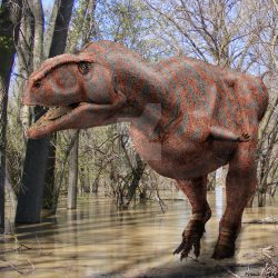 Majungasaurus by Frank Lode