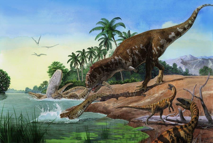 Majungasaurus by Sergey Krasovskiy