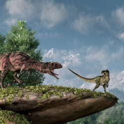 Majungasaurus by Daniel Eskridge