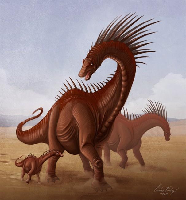 Amargasaurus by Kaek Starkiller