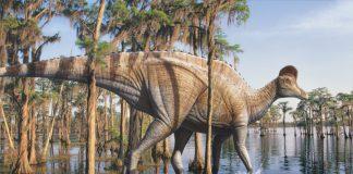 Corythosaurus by Vlad Konstantinov
