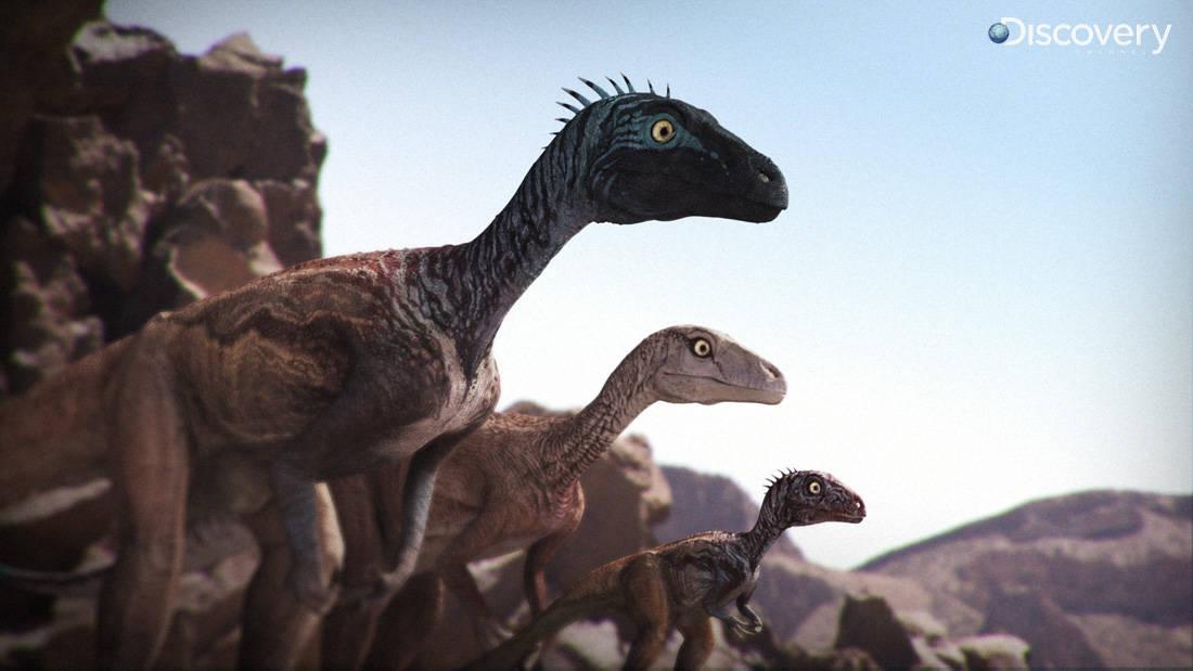 Eoraptor by Vlad Konstantinov