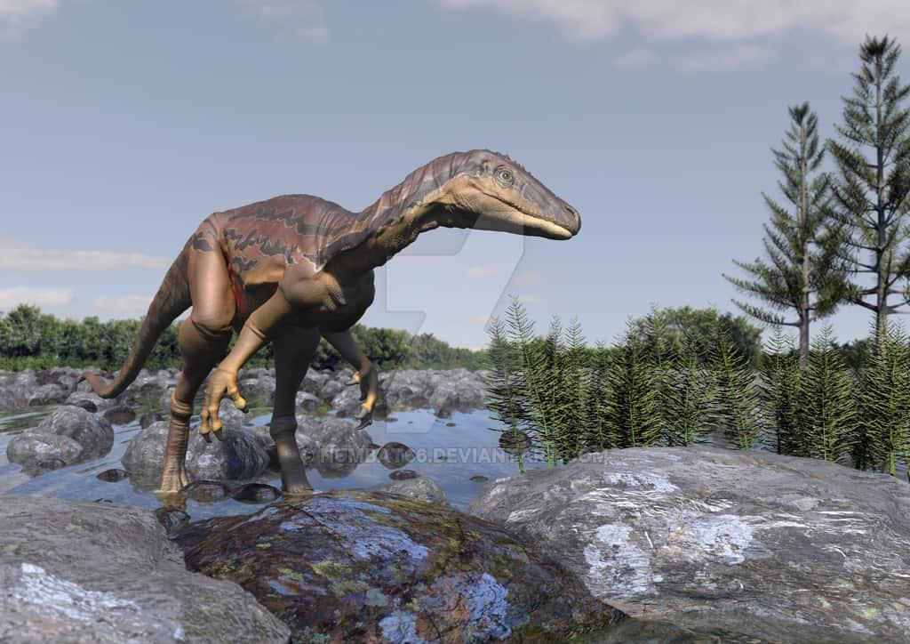 Eoraptor by Anthony Numbat
