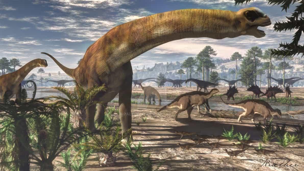 Camarasaurus by James Kuether