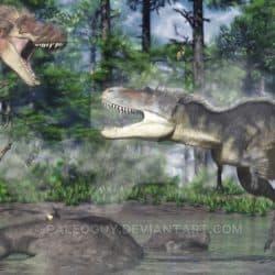 Daspletosaurus by Jk