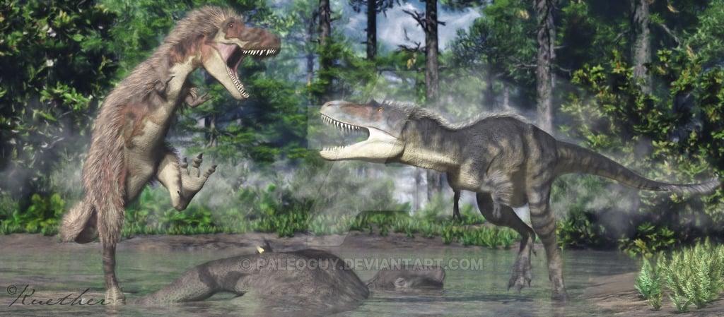 Daspletosaurus by James Kuether