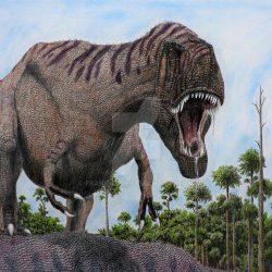 Daspletosaurus by Frank Lode