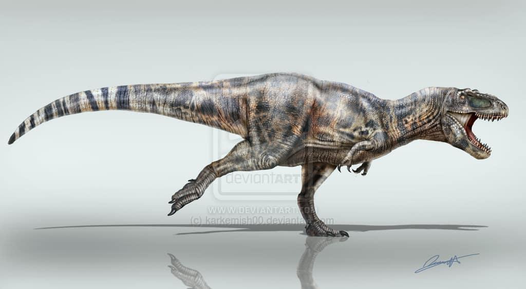 Daspletosaurus by Eduardo