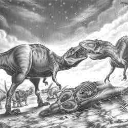 Daspletosaurus by Fabio Pastori