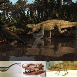 Postosuchus by Arthur J Dorety III