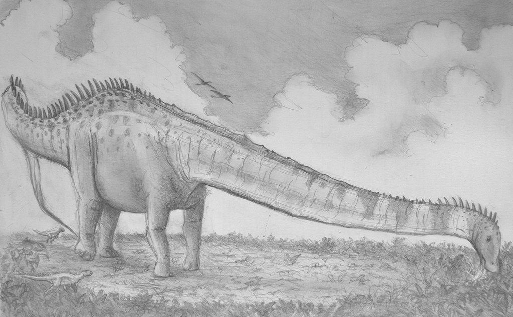 Supersaurus by Alex Lovegrove