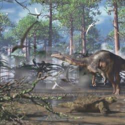 Plateosaurus by Jk