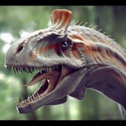 Cryolophosaurus by Petru Neacsu