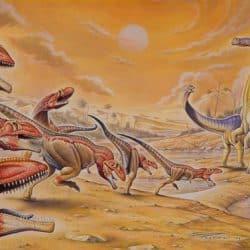 Mapusaurus by Fabio Pastori