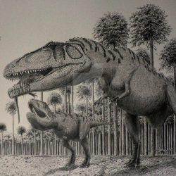 Mapusaurus by Frank Lode