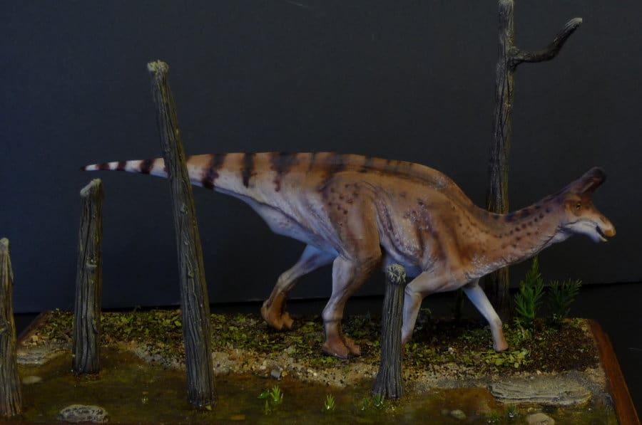 Lambeosaurus by Martin Garratt