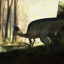 Lambeosaurus by Emperor