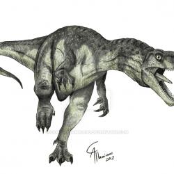 Herrerasaurus by Camus Altamirano
