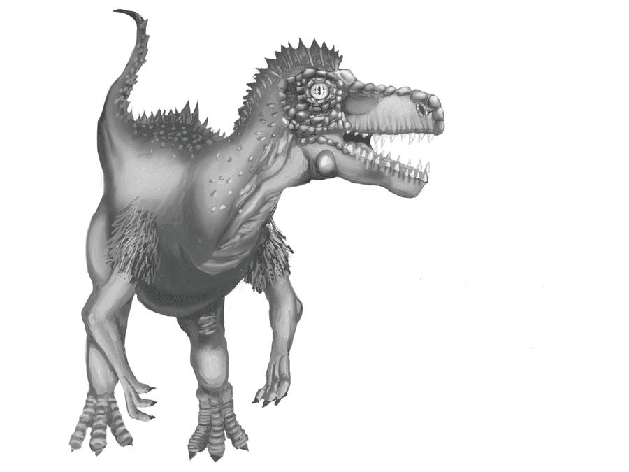 Herrerasaurus by Aznyueying