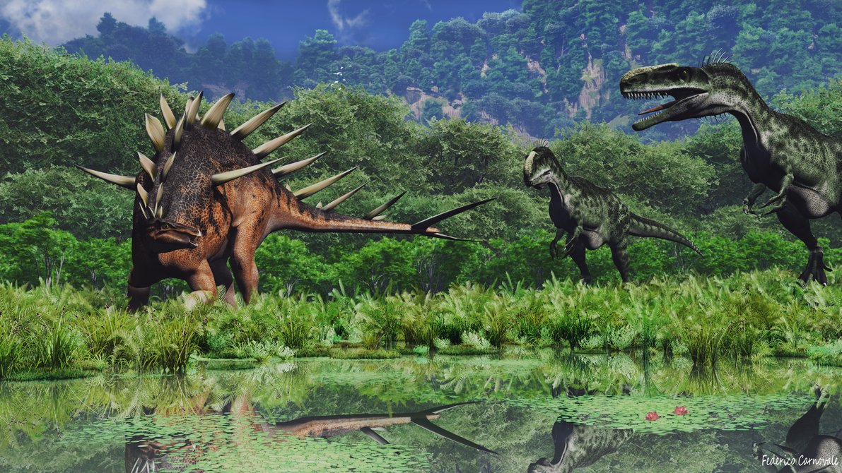 Kentrosaurus by Federico