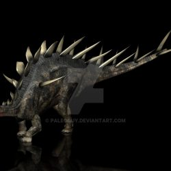 Kentrosaurus by Jk