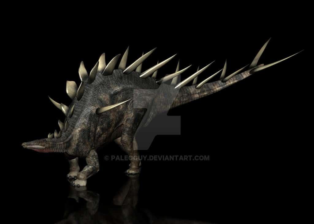 Kentrosaurus by James Kuether