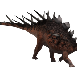 Kentrosaurus by Wayne