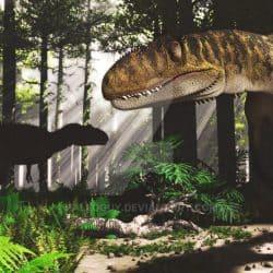 Metriacanthosaurus by Jk