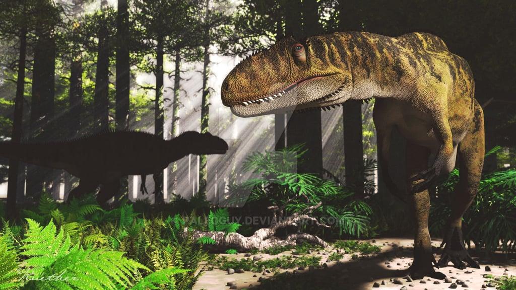 Metriacanthosaurus by James Kuether